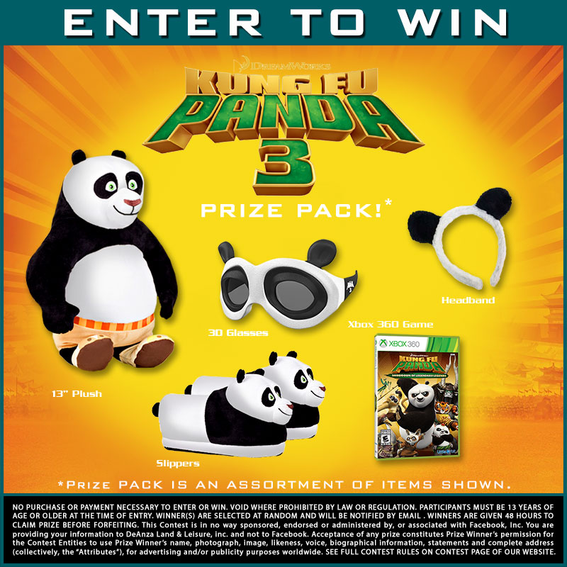 Kung Fu Panda 3 Prize Pack News From South Bay Drive In Theatre